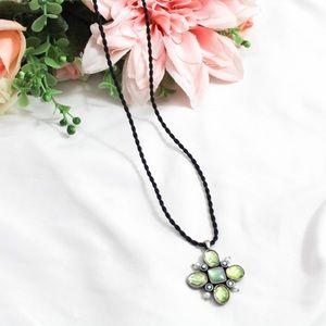 Lia Sophia Flower Pendant Necklace